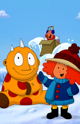 Maggie and the Ferocious Beast Show Print: S1, E01