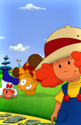 Maggie and the Ferocious Beast Show Print: S1, E09a