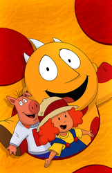 Maggie and the Ferocious Beast Show Print: S1, E02c