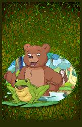 Little Bear Show Print: S5 E06