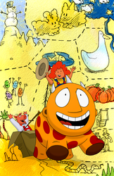 Maggie and the Ferocious Beast Show Print: S1, E02b