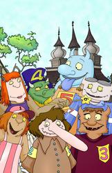 Seven Little Monsters Show Print: S1, E03