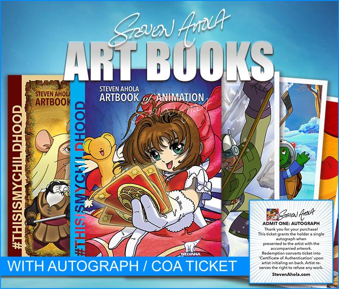 Art Books by Steven Ahola